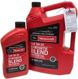 Olej silnikowy Motorcraft 5W20 SYNTHETIC BLEND MOTOR OIL 5,67l Ford M