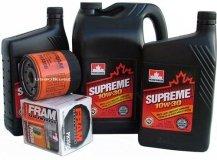 Filtr oleju FRAM PH3506 oraz olej SUPREME 10W30 Hummer H2