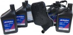 Filtr + olej ACDelco skrzyni biegów 4L60-E GMC Sierra 2000-