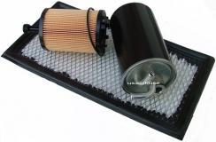 Kpl filtrów - filtr paliwa powietrza oleju Dodge Caliber 2,0TD