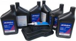 Filtr + olej ACDelco automatycznej skrzyni biegów Chevrolet Silverado 2007-