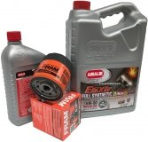 Filtr oraz syntetyczny olej AMALIE 5W30 GMC Savana 4,3 V6 2000-