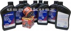 Filtr olej silnikowy 5W-30 Dexos2 Full Synthetic ACDelco Chevrolet Camaro SS 6,2 V8 -2016