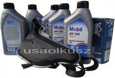 Filtr oraz olej skrzyni biegów Mobil ATF320 Buick Century
