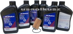 Filtr olej silnikowy 5W-30 Dexos2 Full Synthetic ACDelco Oldsmobile Aurora 3,5 V6