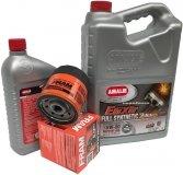 Filtr oraz syntetyczny olej AMALIE 5W30 GMC Sierra 4,3 V6