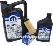 Olej MOPAR 5W30 oraz oryginalny filtr Jeep Wrangler 3,6 V6 2014-