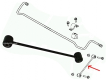 Łącznik stabilizatora tylnego Chrysler Pacifica