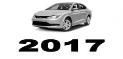 Specyfikacja Chrysler 200 2017