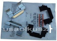 Zestaw montażowy tylnych klocków Chevrolet TrailBlazer 2002-