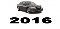 Specyfikacja Chrysler 300C 2016
