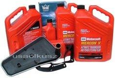 Filtr + olej Motorcraft Mercon V automatycznej skrzyni biegów Ford Expedition RWD / 2x4