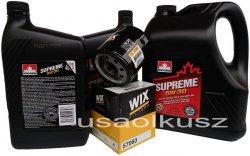 Filtr oraz mineralny olej 5W30 Chevrolet Silverado 2007-