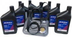 Filtr + olej ACDelco automatycznej skrzyni biegów 4L85-E Chevrolet Avalanche 2500 8.1 V8 2003-2006
