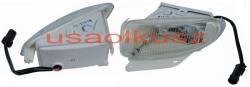 Prawy halogen lampa przeciw mgielna Dodge Caravan 1996-2000
