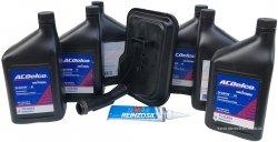 Filtr + olej ACDelco automatycznej skrzyni biegów Cadillac Escalade 6,2 V8 2007-