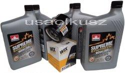 Filtr oleju oraz syntetyczny olej 10W30 Plymouth Voyager 2,0 / 2,4