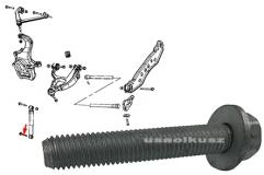Śruba modowania amortyzatora dolna Dodge Durango -2009