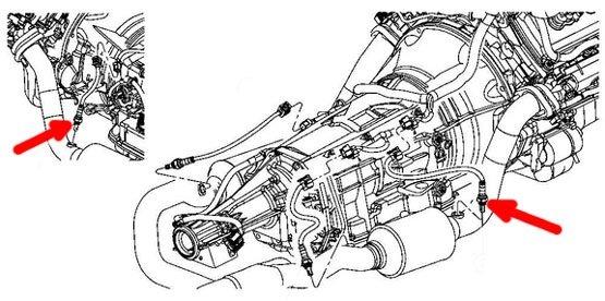 Sonda lambda przednia MOPAR Chrysler Aspen hybrid 5,7 V8
