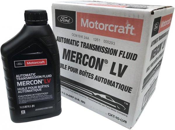 Olej automatycznej skrzyni biegów Motorcraft MERCON LV 1l Lincoln Mercury