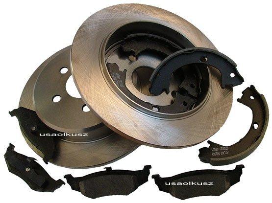 Tylne tarcze klocki szczęki Chrysler Sebring Convertible