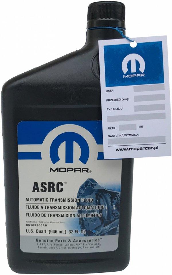 Olej ASRC skrzyni Aisin AS69RC AS68RC 6-speed Dodge RAM