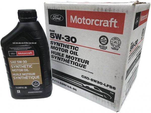 Full syntetyczny olej silnikowy Motorcraft 5W30 1l Lincoln Mercury