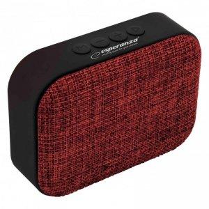 Głośnik Bluetooth Esperanza FM Samba EP129R czerwony