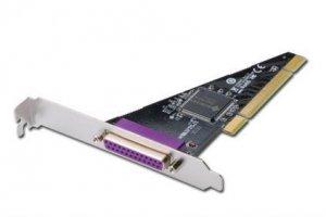 Kontroler LPT DIGITUS PCI, 1xDB25, Chipset: SUN1989