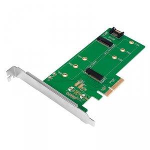 Adapter LogiLink PC0083 podwójny M.2 SSD SATA i PCIe SATA
