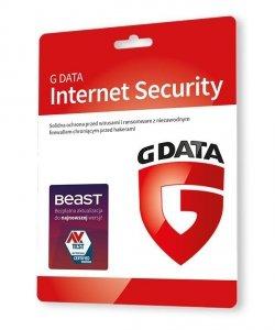 GDATA Internet Security 2PC 1rok karta-klucz
