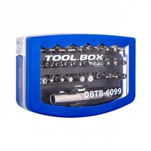 Zestaw bitów DigitalBox TOOL.BOX 30 elementów 6.3mm