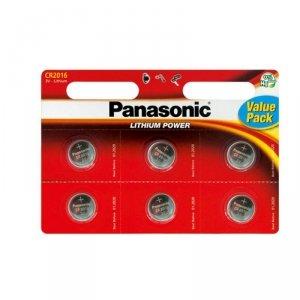 Panasonic bateria litowa CR2016 - 6szt blister