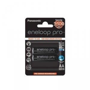 Panasonic Eneloop Pro R6/AA 2450mAh akumulator – 2 szt blister