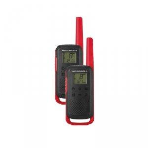 Motorola Talkabout T62 dwupak + ładowarka czerwony