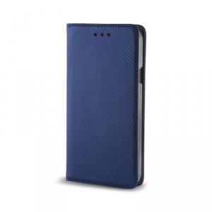 Etui Smart Magnet do Motorola Moto G8 Plus granatowe
