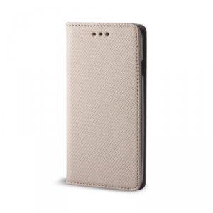 Etui Smart Magnet do Motorola Moto G8 Plus złote