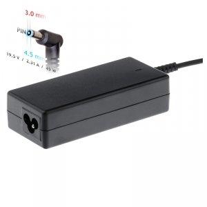 Akyga Zasilacz do notebooka AK-ND-68 19.5V / 2.31A 45W 4.5 x 3.0 mm + pin DELL 1.2m