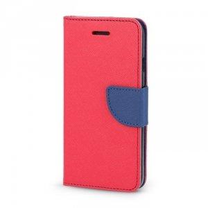 Etui Smart Fancy do Samsung Galaxy A42 5G czerwono-granatowy