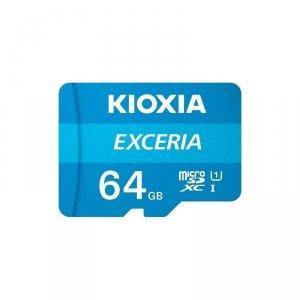 Kioxia 64GB microSD KIOXIA Exceria (M203) UHS I U1 with adapter