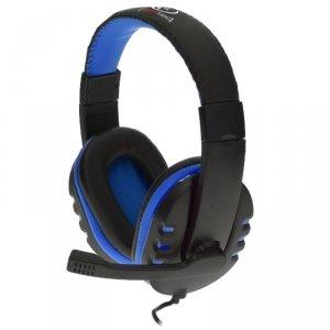 Rebeltec słuchawki przewodowe Revol nauszne stereo z mikrofonem