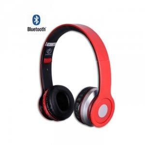 Rebeltec słuchawki Bluetooth Crystal czerwone