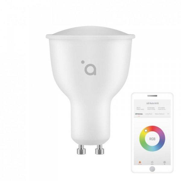 Żarówka inteligenta LED RGB Acme SH4309 Smart 4.5W 300lm GU10WW/CW/RGB