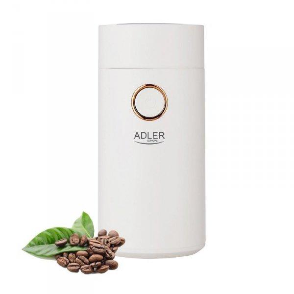Młynek do kawy Adler AD 4446wg biały