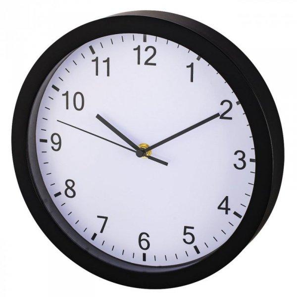 Zegar ścienny Hama PP-250, czarny
