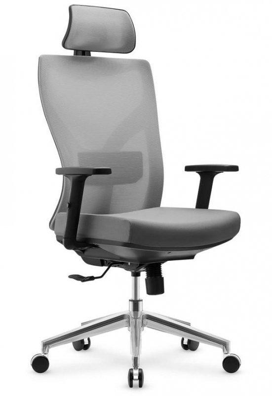 Fotel biurowy obrotowy MarkAdler Expert 4.5 Grey