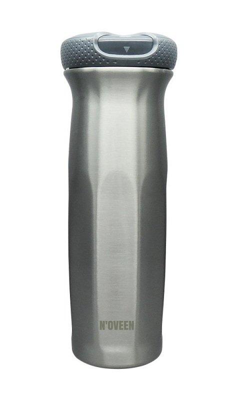 Butelka termiczna NOVEEN 630 ml TB902 Strong Steel Silver