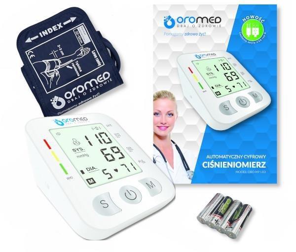 Ciśnieniomierz OROMED ORO-N9 LED