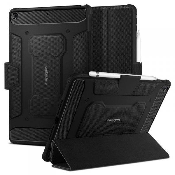 Spigen etui Rugged Armor Pro do Apple iPad 10.2 2019 czarne