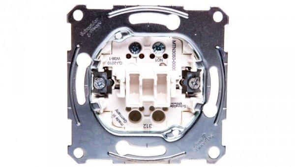 Merten Przycisk jednobiegunowy 1Z 10A IP20 MTN3050-0000